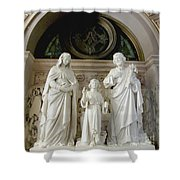 The Holy Family Shower Curtain