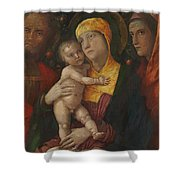 The Holy Family With Saint Mary Magdalen 1500 Shower Curtain