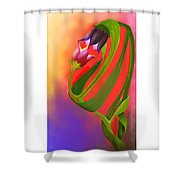 The Holy Gift Of Life Shower Curtain