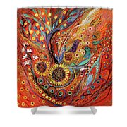 The Holy Land Autumn Shower Curtain
