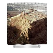 The Holy Land: Masada Shower Curtain