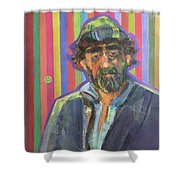 The Homeless Shower Curtain