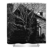 The Homestead Shower Curtain by Richard Rizzo