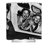 The Honeymooners, C1955 Shower Curtain by Granger