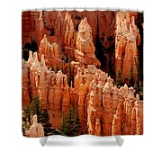 The Hoodoos In Bryce Canyon Shower Curtain