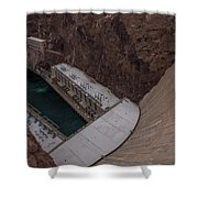 The Hoover Dam Shower Curtain
