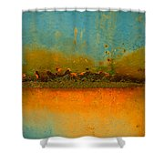 The Horizon Shower Curtain