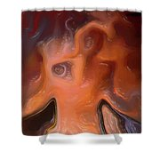 The Horrors War Shower Curtain