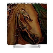 The Horse Shower Curtain