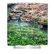 The Hot Springs In Hot Springs Arkansas Shower Curtain