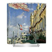 The Hotel Des Roches Noires At Trouville Shower Curtain