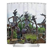 The House Band, Brittany, France Shower Curtain