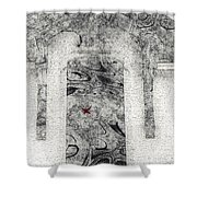 The House Of Magickal Cosmology Shower Curtain