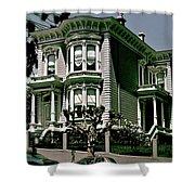 The House On The Hill Shower Curtain