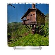 The House On The Tree - La Casa Sull'albero Shower Curtain