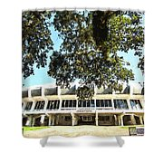 The House Pete Built - Pano Digital Painting Shower Curtain