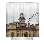 The Household Cavalry Museum London Abstract 2 Shower Curtain