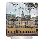 The Household Cavalry Museum London Shower Curtain