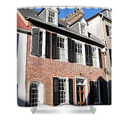 The Houses Of Charleston Shower Curtain