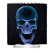 The Howling Void Shower Curtain