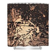 The Human Condition Shower Curtain