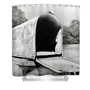 The Humble Mailbox Shower Curtain