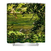 The Hunter - Paint Shower Curtain