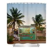 The Ice Cream Man Shower Curtain