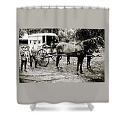 The Ice Man Shower Curtain