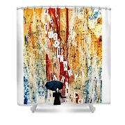 The Imaginary Art Co. Storm Shower Curtain