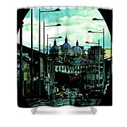 The Inca Trail Passes Through Cuenca IIi Shower Curtain