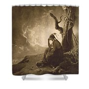 The Indian Widow Shower Curtain