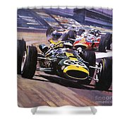 The Indianapolis 500 Shower Curtain