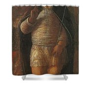 The Infant Redeemer 1495 Shower Curtain