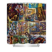The Infinite Passion Of Life Shower Curtain