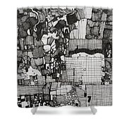 The Information Shower Curtain