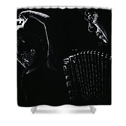 The Intensity Of Flamenco Shower Curtain