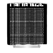 The Intertypes - Spaces Between Letters  Shower Curtain