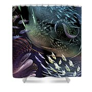 The Intricacy Of Existence Shower Curtain