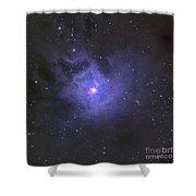 The Iris Nebula Shower Curtain
