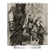 The Irish Famine Shower Curtain