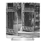The Iron Gates Shower Curtain