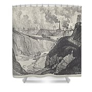 The Iron Mine Shower Curtain
