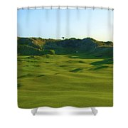 The Island Golf Club - Hole #5 Shower Curtain