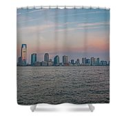 The Island Of Manhattan Shower Curtain