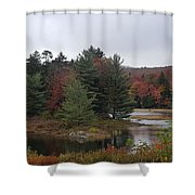 The Island Of Pines  Shower Curtain