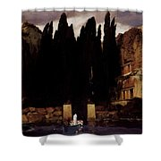 The Isle Of The Dead 1886 Shower Curtain