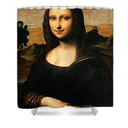 The Isleworth Mona Lisa Shower Curtain