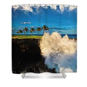 The Jack Nicklaus Signature Hualalai Golf Course Shower Curtain