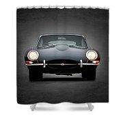 The Jaguar E Type Shower Curtain